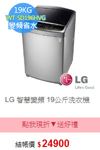 LG 智慧變頻 19公斤洗衣機