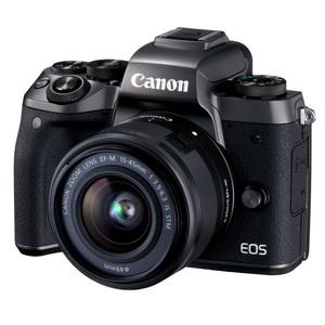 ★快速到貨★Canon EOS M5+15-45mm IS STM (公司貨)+64G副電全配組
