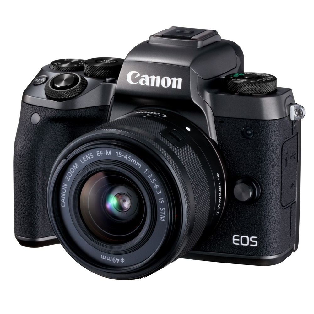 [32G+原電]Canon EOS M5+15-45mm IS STM (公司貨)