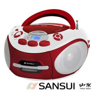 SANSUI山水 CD/MP3/USB/SD/AUX/卡帶手提式音響(SC-85C)