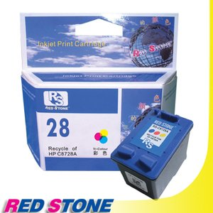 RED STONE for HP C8728A環保墨水匣(彩色)NO.28