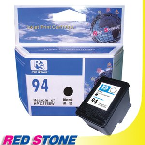 RED STONE for HP C8765WA環保墨水匣(黑色)NO.94