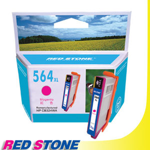 "【任選】RED STONE for HP CB324WA環保墨水匣(紅色)NO.564XL""高容量"""