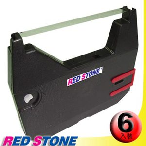 RED STONE for BROTHER AX10打字機碳帶組(黑色/1組6入)