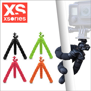 法國XSories Mini Bendy  monochrome GoPro八爪魚攝影三腳架(14cm)