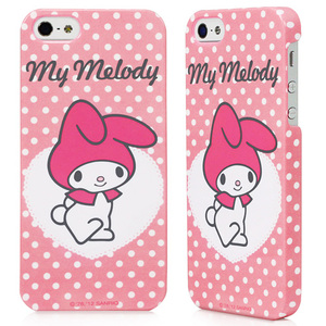 Garmma My Melody for iPhone 5 5S保護殼~點點粉