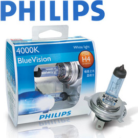 PHILIPS《BlueVision》4000K極星之光(H7/9004/9005/9006)