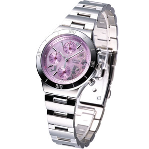 CITIZEN WICCA 系列玫瑰花 女用腕錶FA1006-50X粉