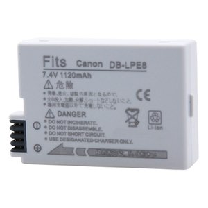 Kamera 鋰電池 for Kamera 鋰電池 for Canon LP-E8 (DB-LPE8)