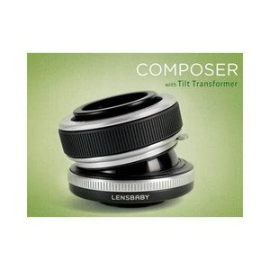 Lensbaby COMPOSER with TILT~ Sony NEX