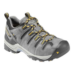 【KEEN】(男)登山鞋-灰/黃 Men's GYPSUM 113-1002261-GARGOYLE/YELLOW