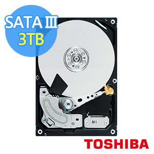 ◆快速到貨 ◆Toshiba 3.5吋Tomcat Cloud 3TB SATA 7200RPM 128MB雲端碟(MC04ACA300E)