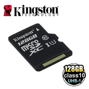 金士頓(Kingston) MicroSDXC UHS-I Class10 128GB 記憶卡 (SDC10G2/128GB)