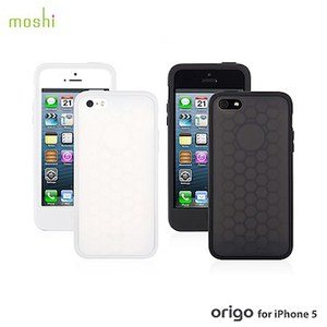 moshi Origo for iPhone 5 雙色矽膠保護套
