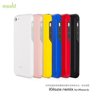 moshi iGlaze Remix for iPhone 5C 超薄時尚保護背殼	- 7色