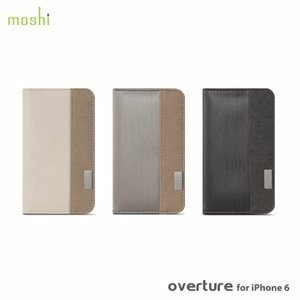 Moshi Overture for iPhone 6 側開卡夾型保護套