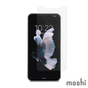 Moshi AirFoil Glass for iPhone X 清透強化玻璃螢幕保護貼