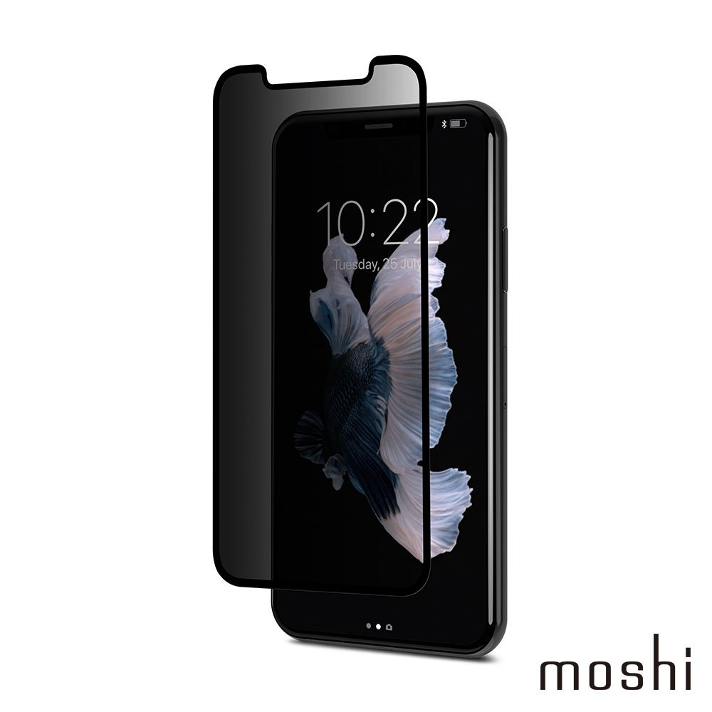 Moshi IonGlass Privacy for iPhone XS/X 防窺強化玻璃保護貼