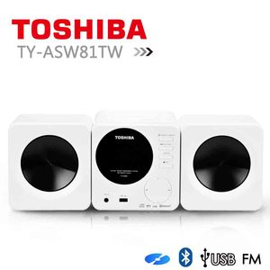 【TOSHIBA】福利品CD/MP3/USB/藍芽組合音響 (TY-ASW81TW)