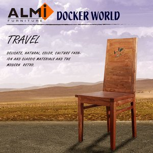 【ALMI】高背椅 DOCKER WORLD- DOBW CHAIR 高背椅