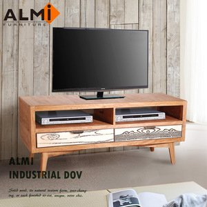 【ALMI】DOCKER VINTAGE-TV 2 DRAWERS 雙抽電視櫃