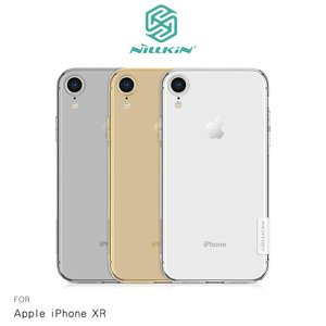NILLKIN Apple iPhone XR 本色TPU軟套