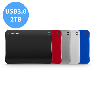 ◆快速到貨◆Toshiba Canvio Connect II V8 2TB USB3.0 2.5吋行動硬碟