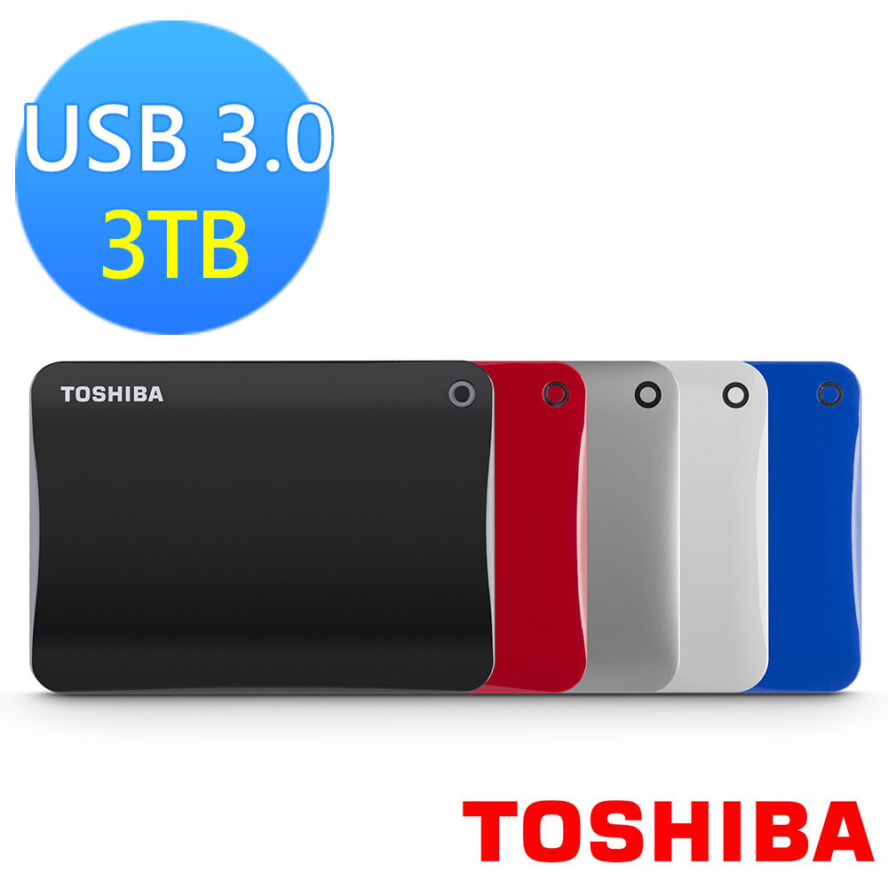 ◆快速到貨◆Toshiba Canvio Connect II V8 3TB USB3.0 2.5吋行動硬碟
