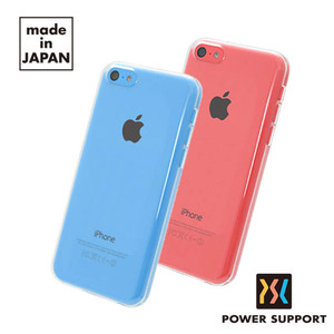 POWER SUPPORT iPhone5C Air jacket 保護殼