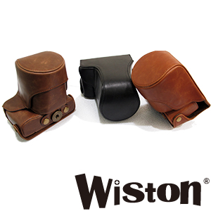 Wiston 手工皮套 For CANON EOS-M (兩件式) 復古皮套