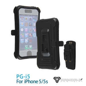 ARMOR-X PG-I5 FOR iPhone 5/5S 360度耐衝擊保護套