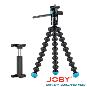 JOBY 磁力錄影腳架(含手機夾) GripTight GorillaPod Video-JB14