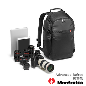 Manfrotto Advanced 專業級 背開相機雙肩包 Befree Backpack