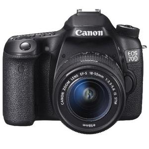 Canon EOS 70D+EF-S 18-55mm IS STM鏡頭(彩虹公司貨)
