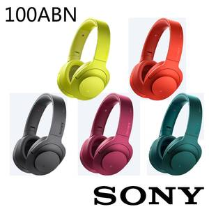 好禮2重送 SONY MDR~100ABN h.ear on 無線降噪耳機