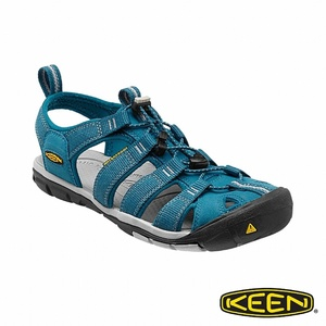 KEEN 女 CLEARWATER CNX 護趾涼鞋(藍色)