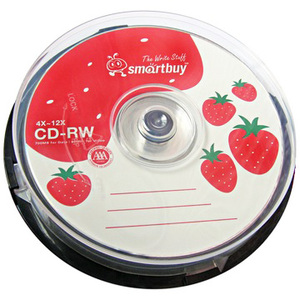 smart buy CD-RW 4X-12X (10片)