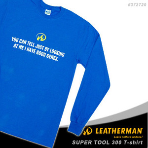 Leatherman Super tool 300 T-shirt 藍色長袖T恤