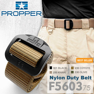 PROPPER Nylon Duty Belt 尼龍勤務腰帶 F560375