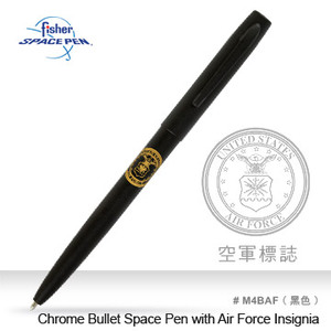 Fisher Cap-O-Matic Space Pen with Air Force Insignia 筆 #M4BAF