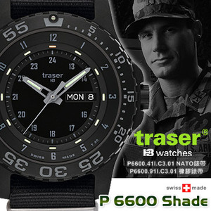 Traser P6600 SHADE 軍錶