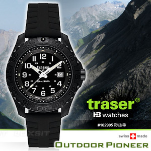 Traser Outdoor Pioneer 軍錶 (單款販售)