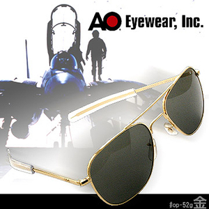 AO Eyewear Original Pilot Sunglasses 飛行員太陽眼鏡 (金色鏡框)#OP52G.BA.TC.