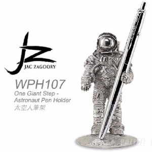 JZ WPH107 One Giant Step - Astronaut Pen Holder 太空人筆架WPH107