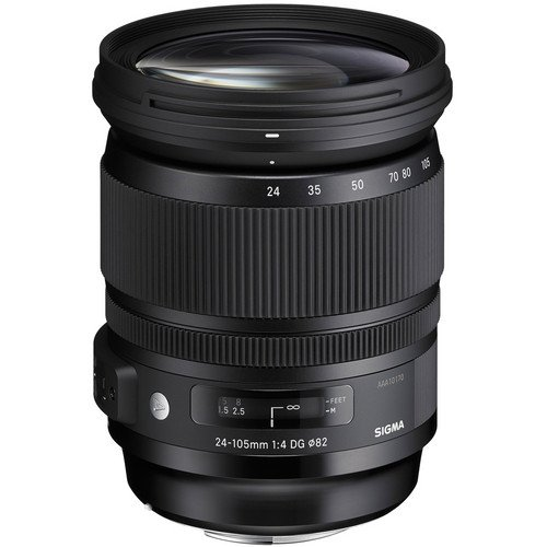 【SONY E mount】SIGMA 24-105mm F4 DG HSM ART+SIGMA MC-11 EOS轉SONY接環 恆伸公司貨 三年保固 微單變焦鏡
