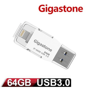 Gigastone i-FlashDrive USB 3.0 64 Apple隨身碟 IF-6600