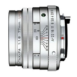 PENTAX SMC FA 77mm F1.8 Limited Silver【公司貨】