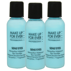 MAKE UP FOR EVER 眼唇卸妝凝乳(25ml)*3
