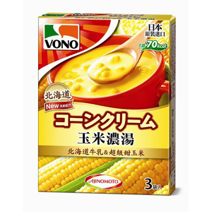 VONO CupSoup 玉米濃湯 (16.8gX3包入)/盒