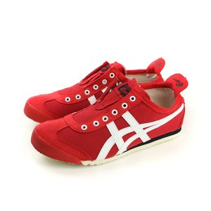 Onitsuka Tiger MEXICO 66 SLIP-ON 運動鞋 紅色 男鞋 no263